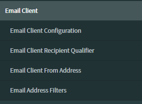 Email client modules